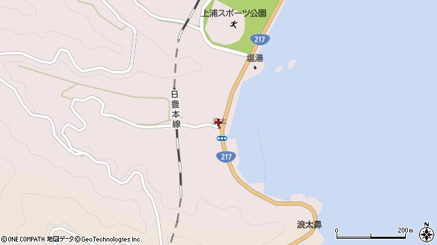 大分県佐伯市上浦大字浅海井浦3566周辺の地図