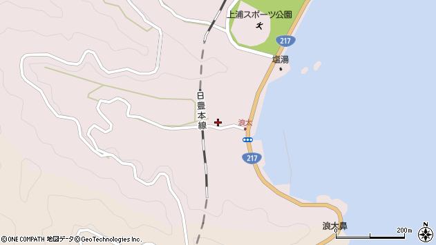 大分県佐伯市上浦大字浅海井浦3559周辺の地図