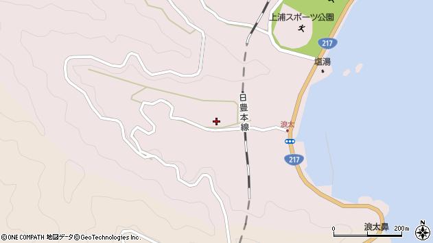 大分県佐伯市上浦大字浅海井浦3495周辺の地図
