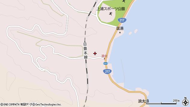 大分県佐伯市上浦大字浅海井浦3546周辺の地図