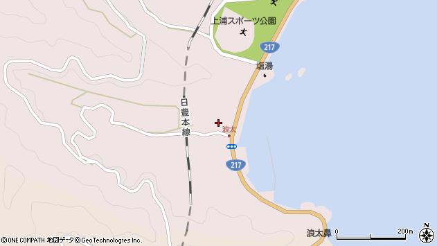 大分県佐伯市上浦大字浅海井浦3542周辺の地図
