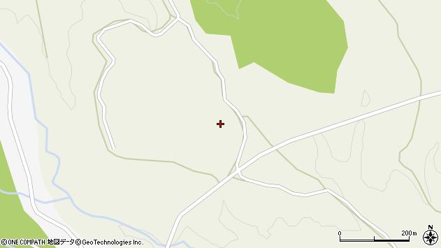 大分県竹田市久住町大字久住4177周辺の地図