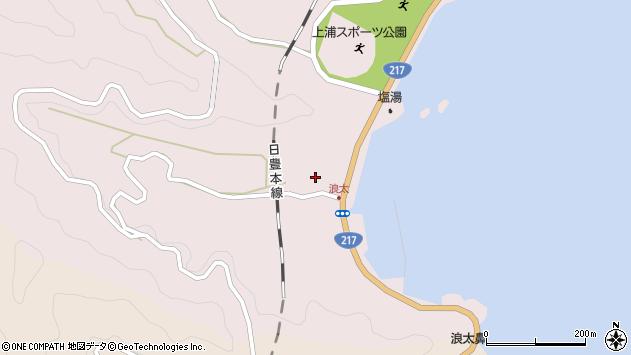 大分県佐伯市上浦大字浅海井浦3544周辺の地図