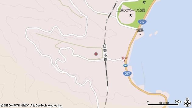 大分県佐伯市上浦大字浅海井浦2972周辺の地図