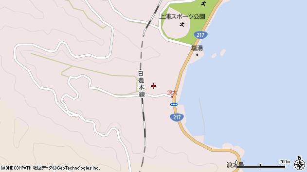 大分県佐伯市上浦大字浅海井浦3550周辺の地図
