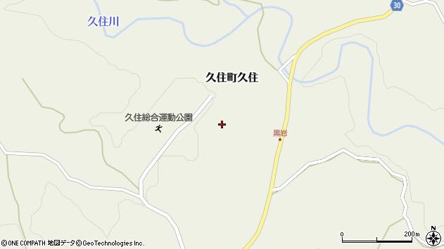 大分県竹田市久住町大字久住加良登周辺の地図