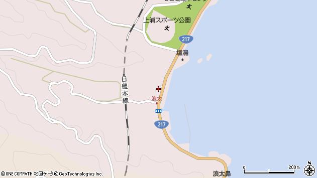 大分県佐伯市上浦大字浅海井浦3535周辺の地図
