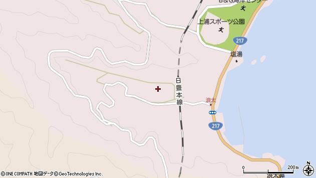 大分県佐伯市上浦大字浅海井浦2975周辺の地図