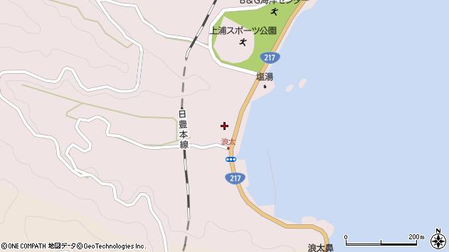 大分県佐伯市上浦大字浅海井浦3533周辺の地図