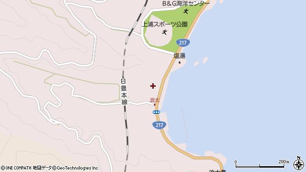 大分県佐伯市上浦大字浅海井浦3534周辺の地図