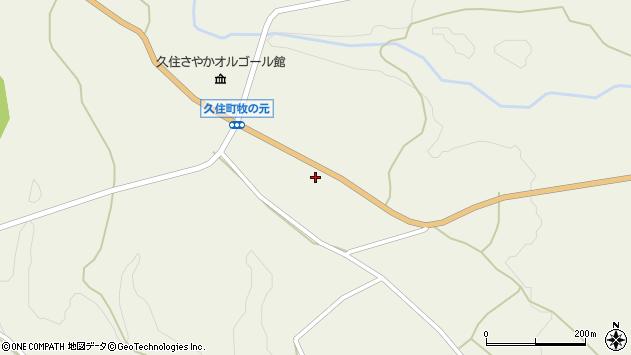 大分県竹田市久住町大字久住3938周辺の地図