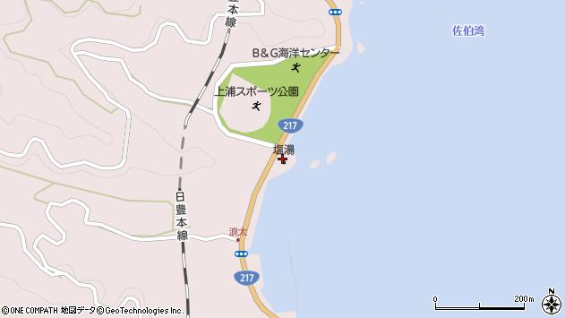 大分県佐伯市上浦大字浅海井浦2920周辺の地図