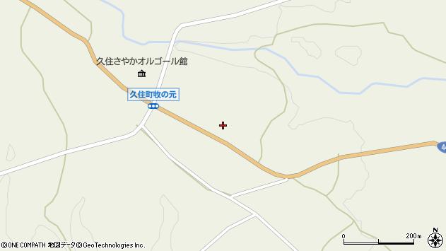 大分県竹田市久住町大字久住3943周辺の地図