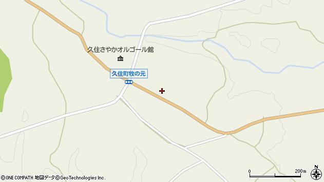 大分県竹田市久住町大字久住3985周辺の地図