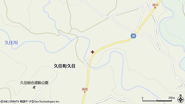 大分県竹田市久住町大字久住211周辺の地図