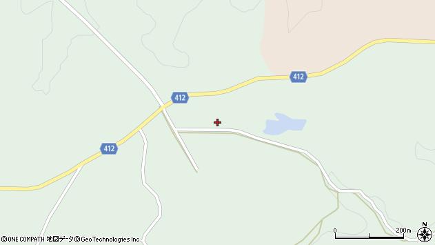 大分県竹田市久住町大字栢木4111周辺の地図