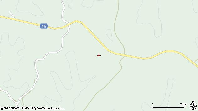 大分県竹田市久住町大字栢木3036周辺の地図