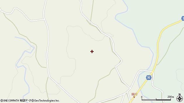 大分県竹田市久住町大字久住448周辺の地図
