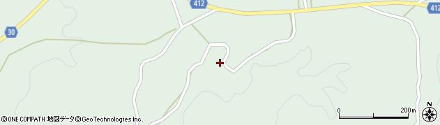 大分県竹田市久住町大字栢木1453周辺の地図