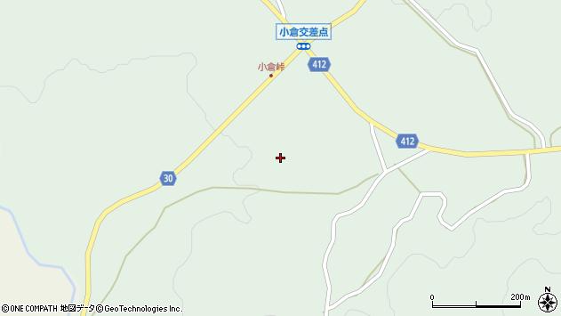 大分県竹田市久住町大字栢木1483周辺の地図