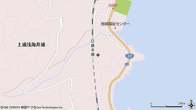 大分県佐伯市上浦大字浅海井浦2203周辺の地図