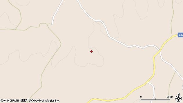 大分県竹田市直入町大字長湯1443周辺の地図