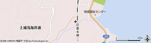 大分県佐伯市上浦大字浅海井浦1798周辺の地図