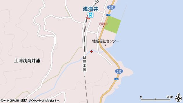大分県佐伯市上浦大字浅海井浦1806周辺の地図