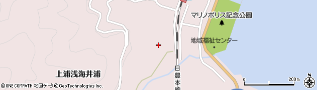 大分県佐伯市上浦大字浅海井浦576周辺の地図