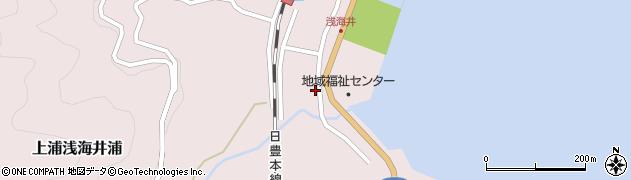 大分県佐伯市上浦大字浅海井浦531周辺の地図