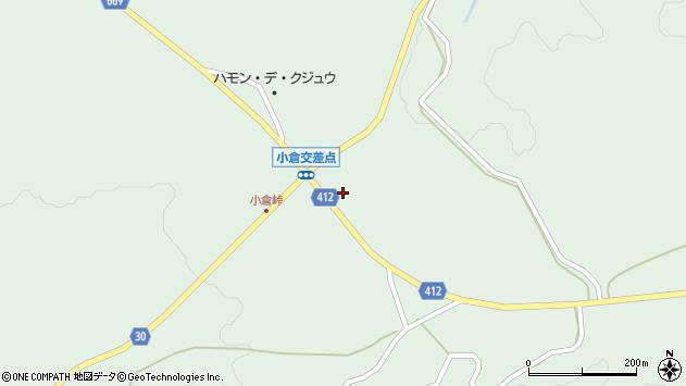 大分県竹田市久住町大字栢木1492周辺の地図