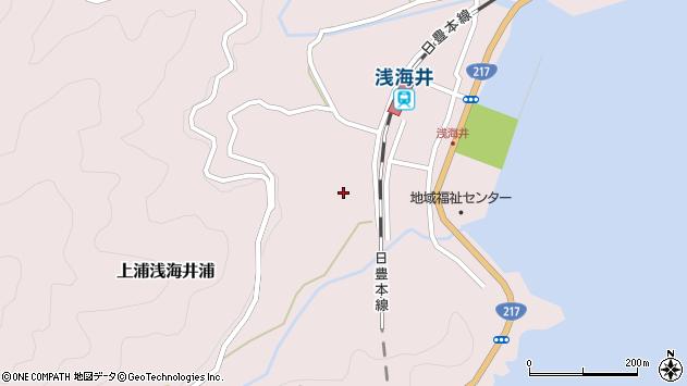 大分県佐伯市上浦大字浅海井浦577周辺の地図
