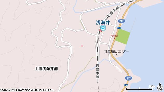 大分県佐伯市上浦大字浅海井浦639周辺の地図