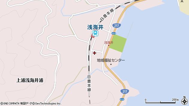 大分県佐伯市上浦大字浅海井浦511周辺の地図