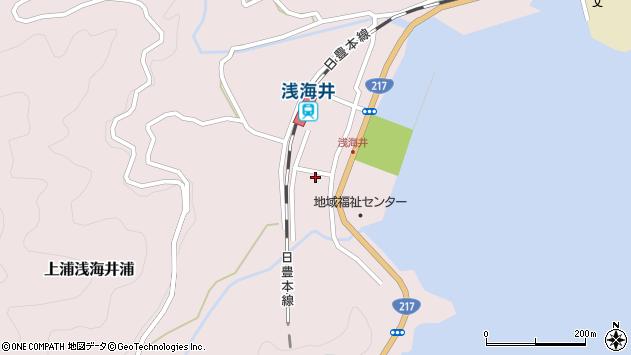 大分県佐伯市上浦大字浅海井浦492周辺の地図