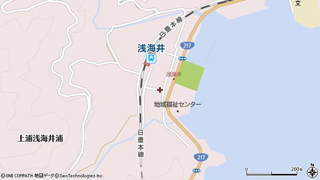 大分県佐伯市上浦大字浅海井浦489周辺の地図