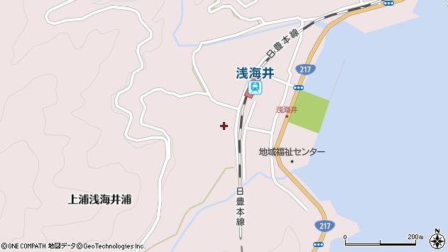 大分県佐伯市上浦大字浅海井浦621周辺の地図