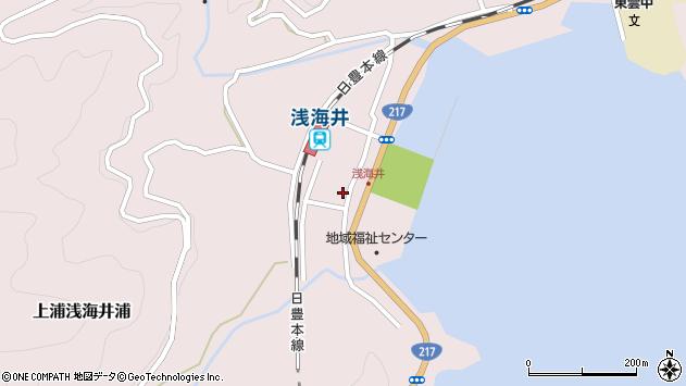 大分県佐伯市上浦大字浅海井浦475周辺の地図