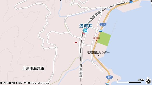 大分県佐伯市上浦大字浅海井浦648周辺の地図