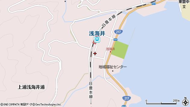 大分県佐伯市上浦大字浅海井浦485周辺の地図