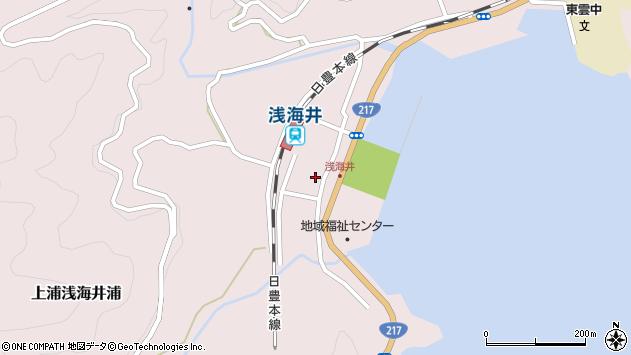 大分県佐伯市上浦大字浅海井浦474周辺の地図
