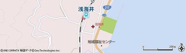 大分県佐伯市上浦大字浅海井浦473周辺の地図