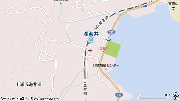 大分県佐伯市上浦大字浅海井浦478周辺の地図