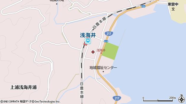 大分県佐伯市上浦大字浅海井浦472周辺の地図