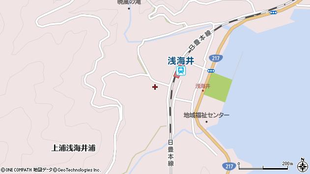 大分県佐伯市上浦大字浅海井浦651周辺の地図