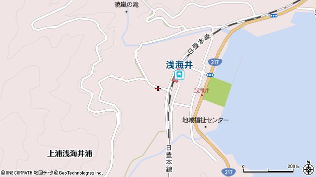 大分県佐伯市上浦大字浅海井浦652周辺の地図