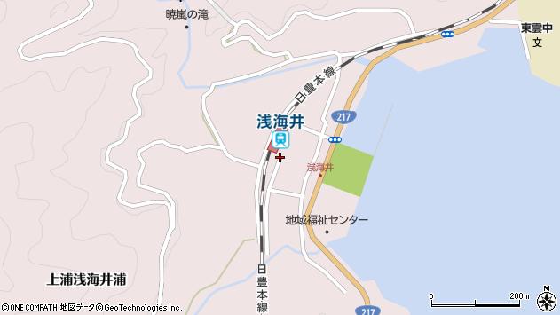 大分県佐伯市上浦大字浅海井浦450周辺の地図
