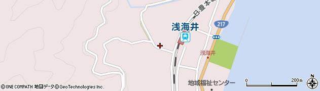 大分県佐伯市上浦大字浅海井浦657周辺の地図