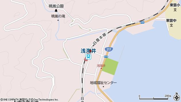 大分県佐伯市上浦大字浅海井浦409周辺の地図