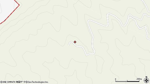 大分県津久見市八戸2051周辺の地図
